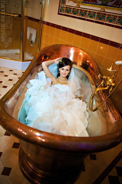 Фотосессия в ванной