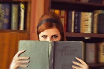 Фотосессия с книгой.